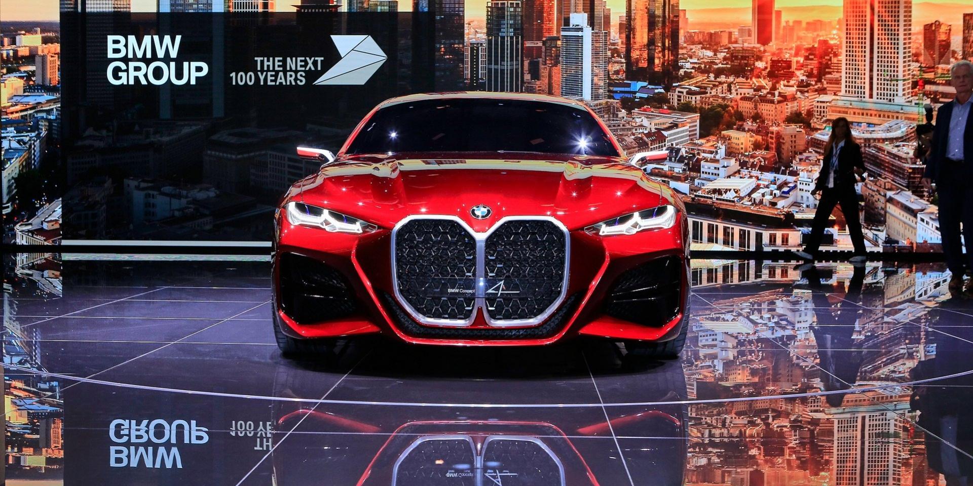 鼻孔放大沒有極限!BMW Concept 4正式亮相!