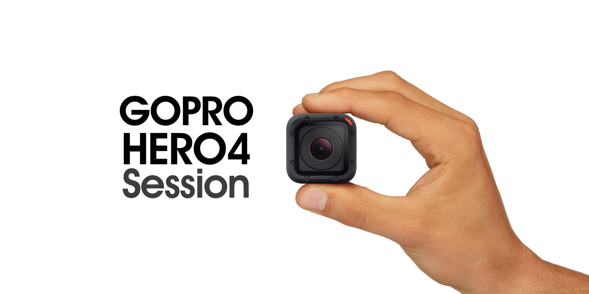 更輕更小,功能一樣強大。Hero4 Session迷你發表