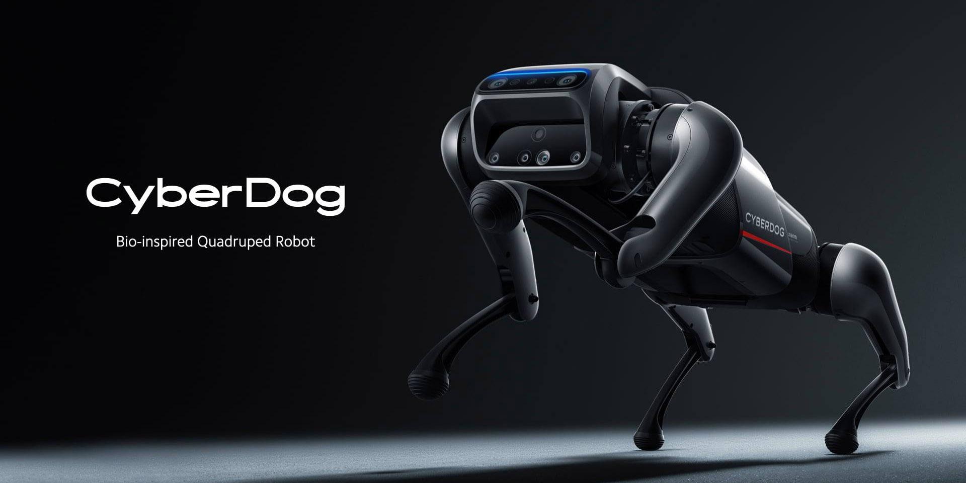 致敬感十足機器人!小米機器狗 Cyberdog