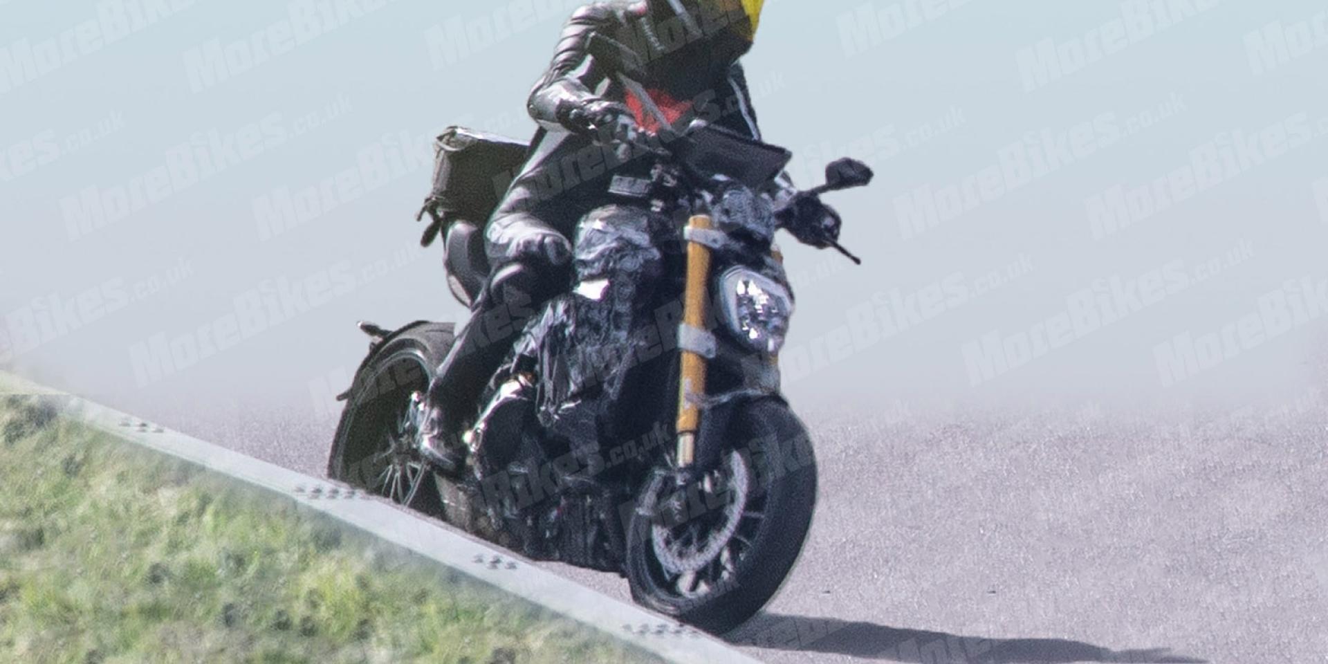 巡航皮、運動骨。全新Ducati Diavel測試車捕獲