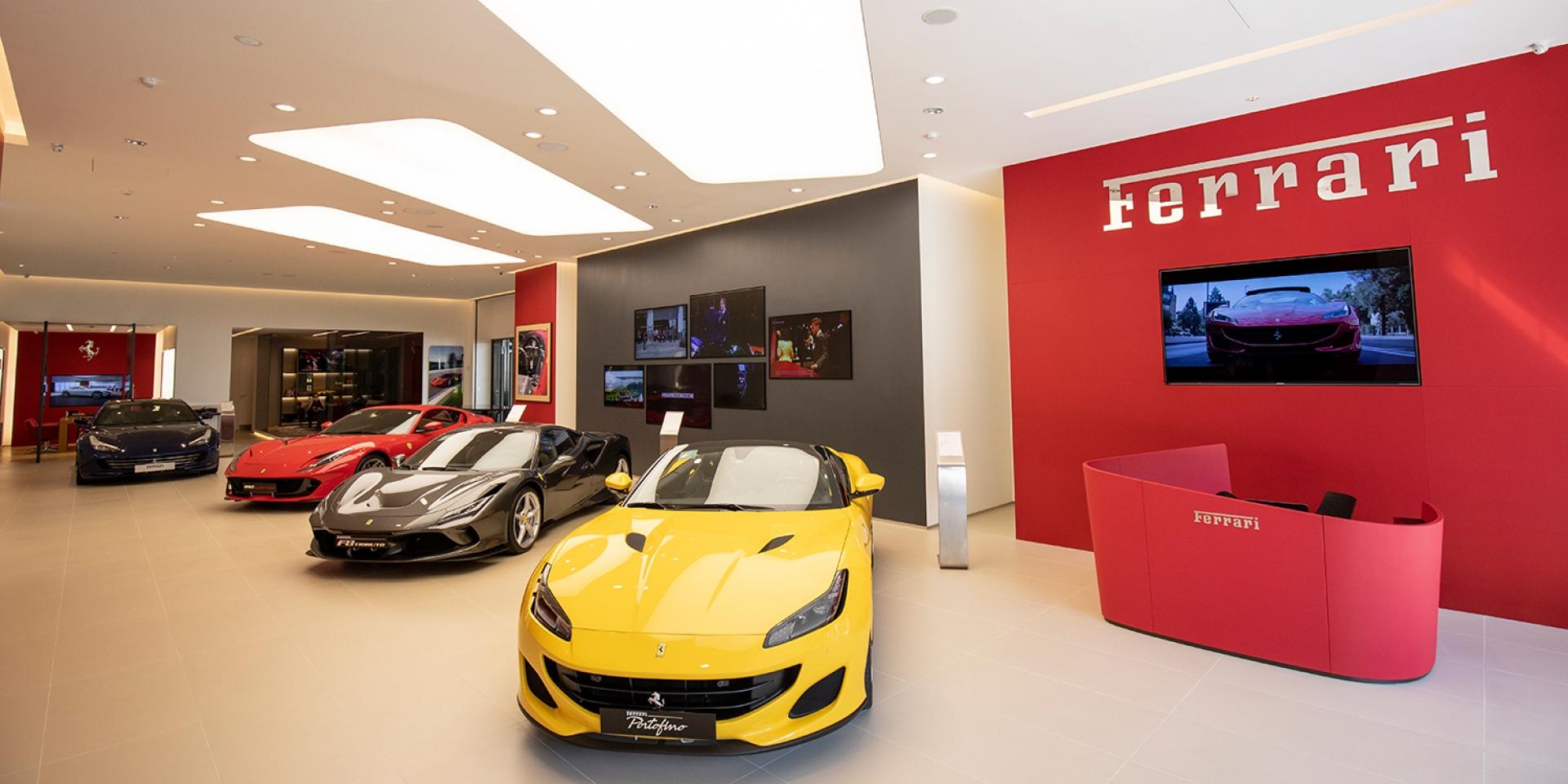 官方新聞稿。全亞太區首間亮相,Ferrari 法拉利臺中展示中心重新盛大開幕