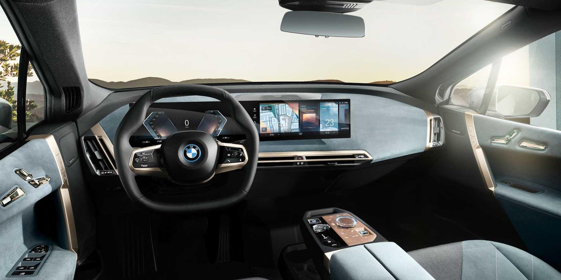 BMW最新iDrive 8.0系統,首發搭載iX、i4