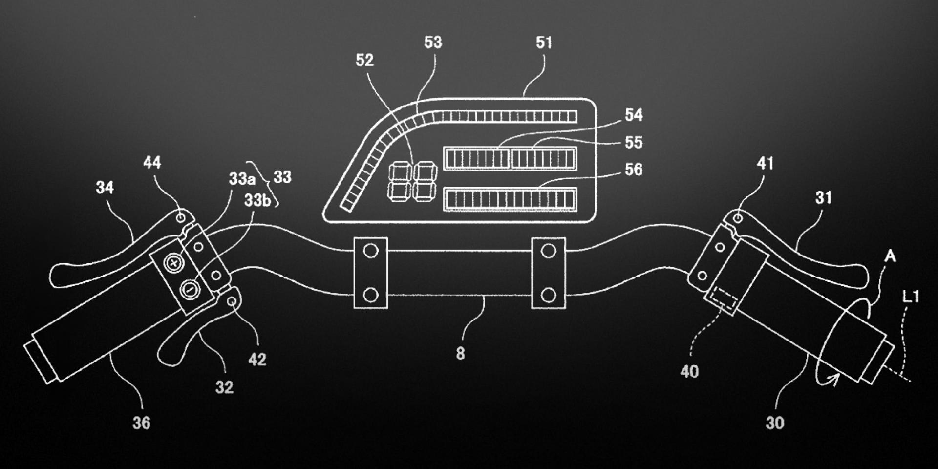 KAWASAKI 專利書曝光。電能回收制動系統