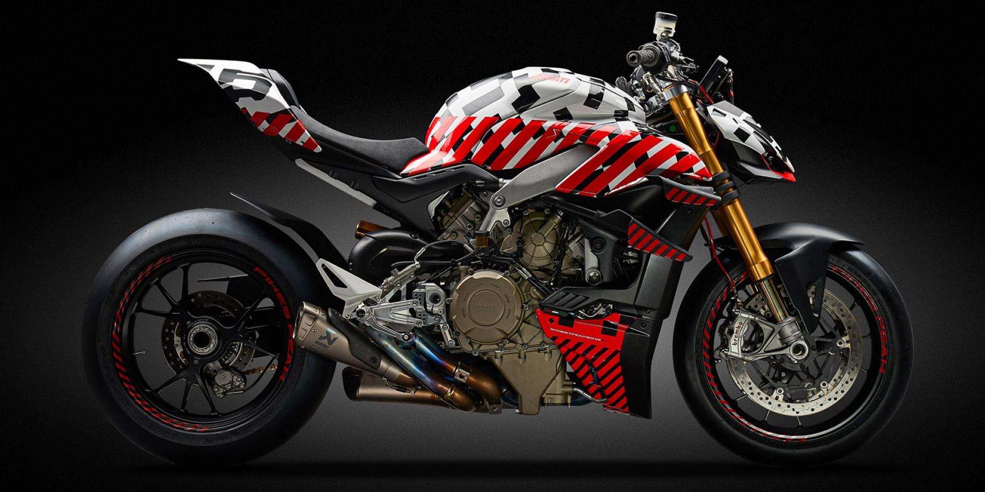 Ducati V4新車決戰派克峰!最快年底正式發表!Streetfighter V4 prototype登場
