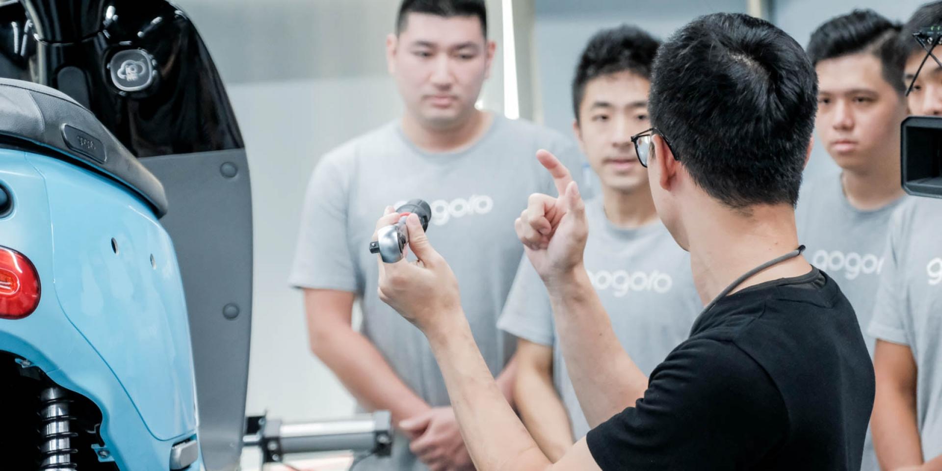 Gogoro 360計畫秘辛揭露!復合型新門市,購車、維修、培訓完整服務體驗