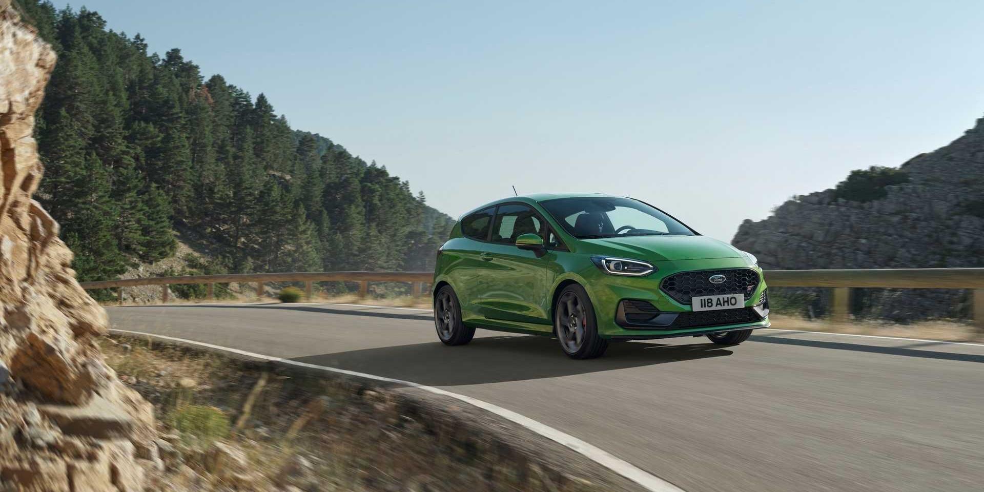 Ford Fiesta小改款擁有48V!LED矩陣式頭燈上身 ST性能表現更好!