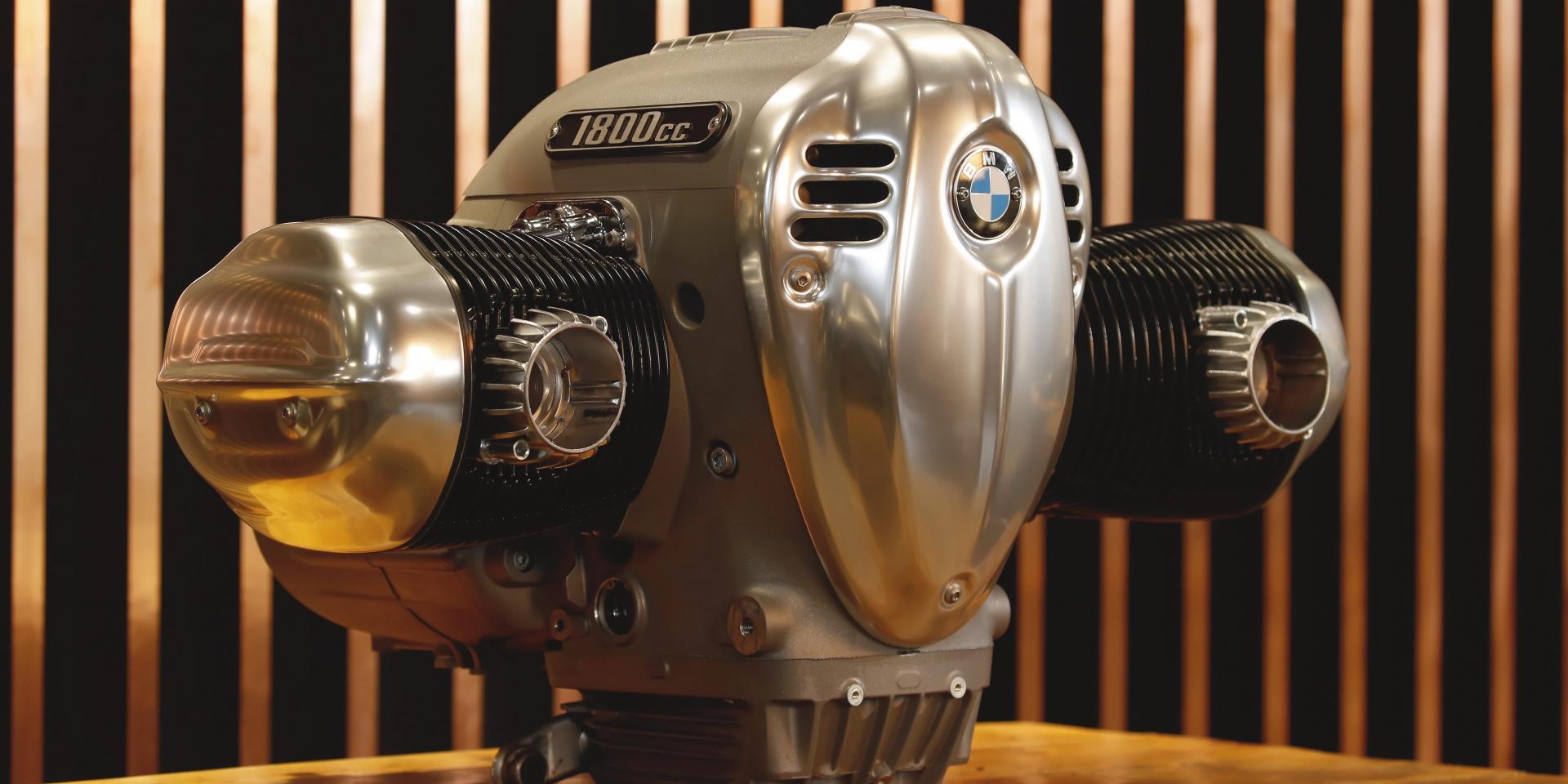 全新1800cc水平對臥動力,BMW R18引擎正式亮相!