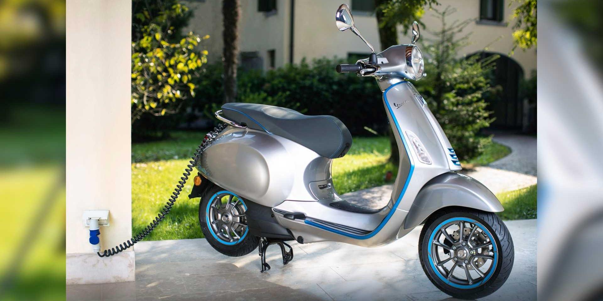 電動車更熱門 Vespa Elettrica將有更高的極速表現!