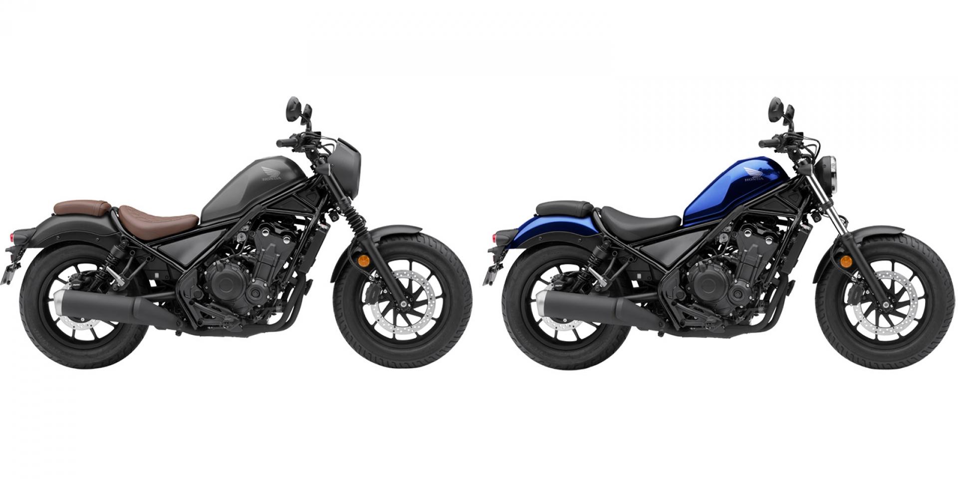 官方新聞稿。2021 Honda Rebel500 / Rebel500 S 風格與品味 更上層樓