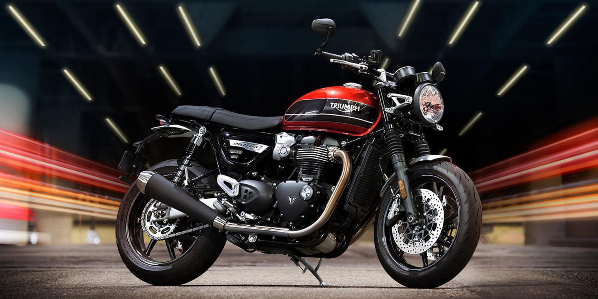 響亮名號,傳奇回歸。Triumph Speed Twin 1200