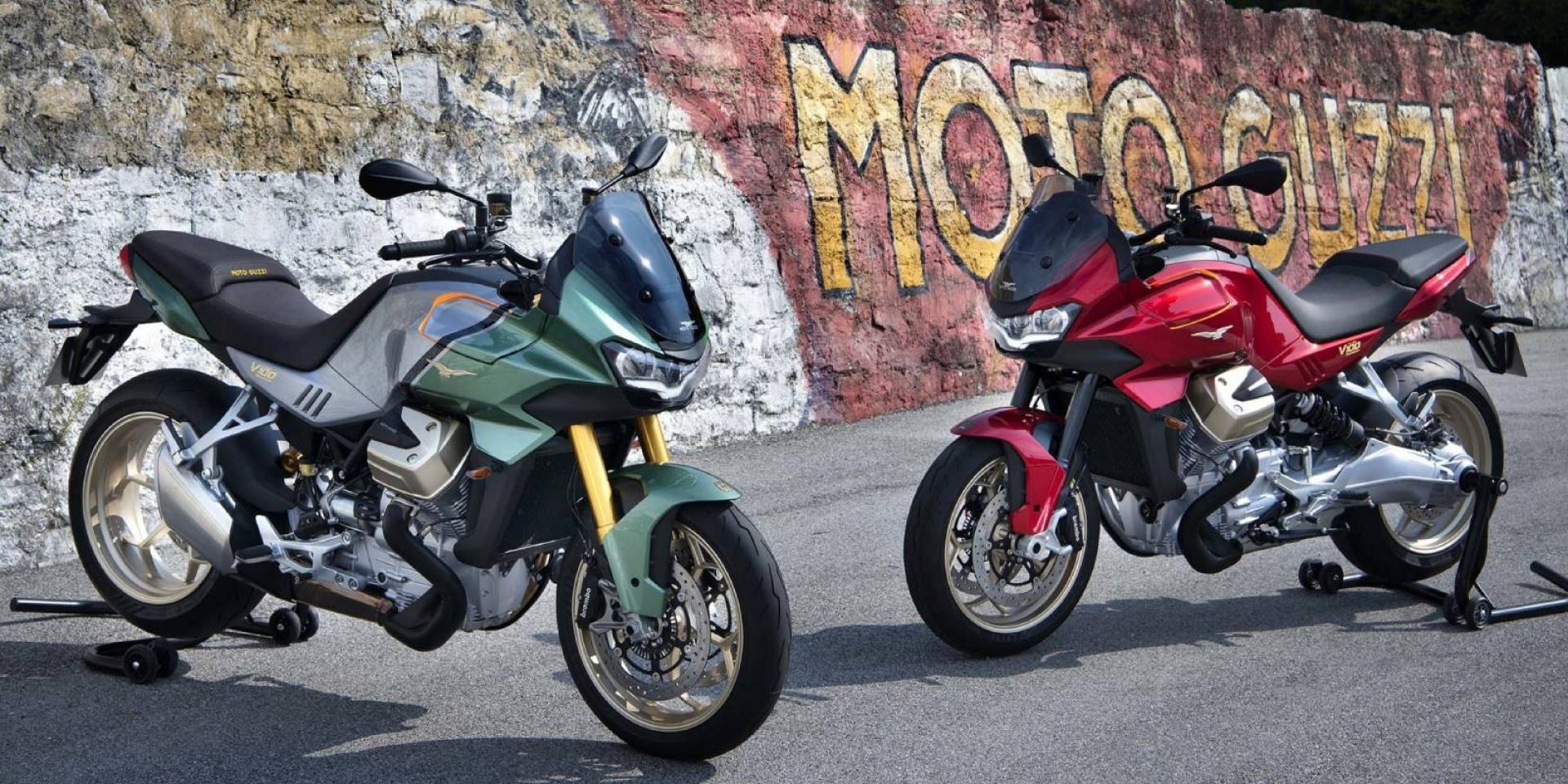 電動風鏡、主動空力套件。Moto Guzzi V100 Mandello 海外亮相!