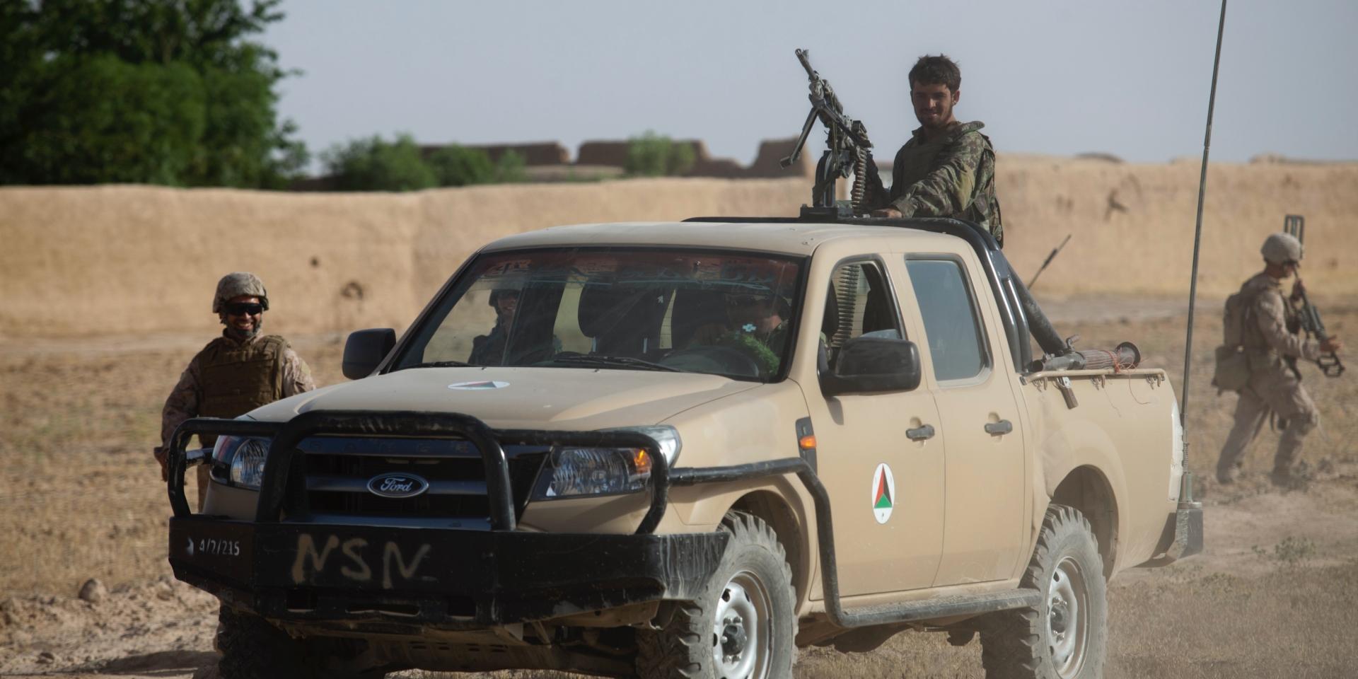 塔利班接收的美軍裝備中,居然還有四萬多輛的Ford Ranger