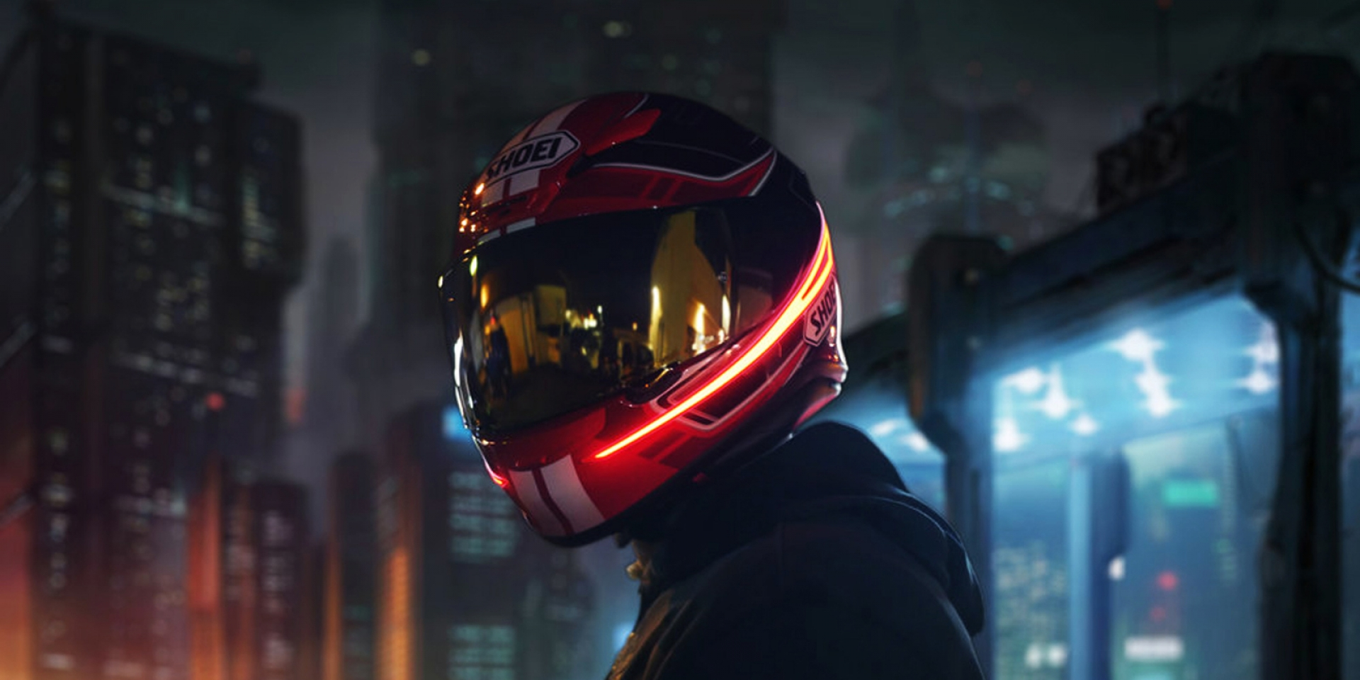 當電影走入生活,當科幻走入現實。Lightmode安全帽燈條套件販售中