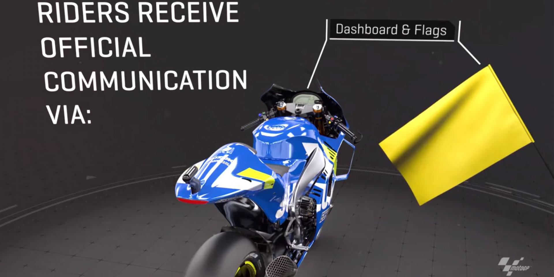 MotoGP賽道講堂|賽道旗號與儀錶訊息