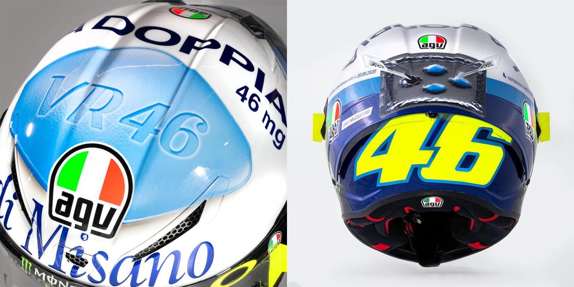 今晚,我想來點厲害的!Valentino Rossi 2020威而鋼彩繪安全帽 市售確定