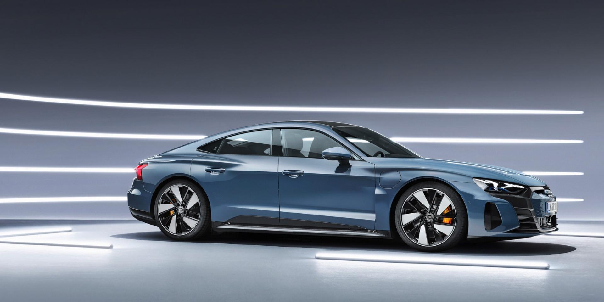 官方新聞稿。絕美電駒Audi e-tron GT 車系開始預售  180kW Audi 極速充電站同步擴點
