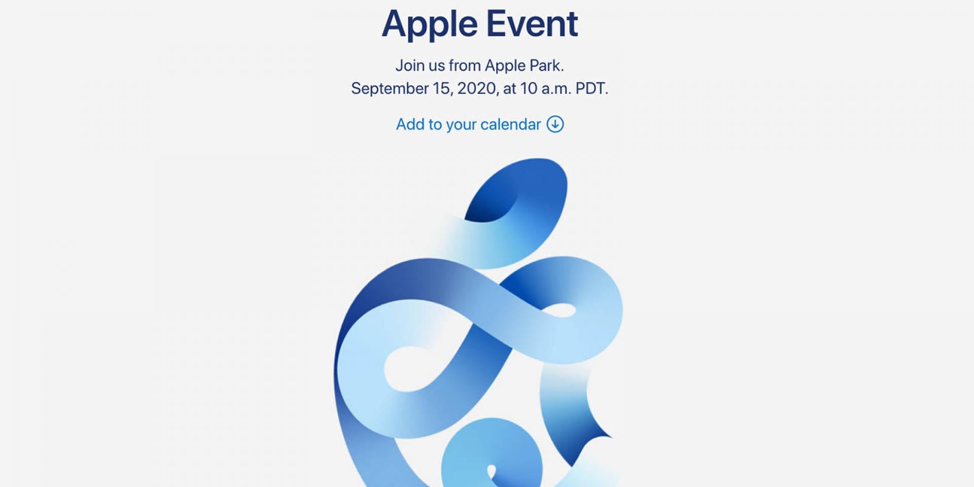 守住荷包。Apple發表會來了! 台灣9/16凌晨1點登場