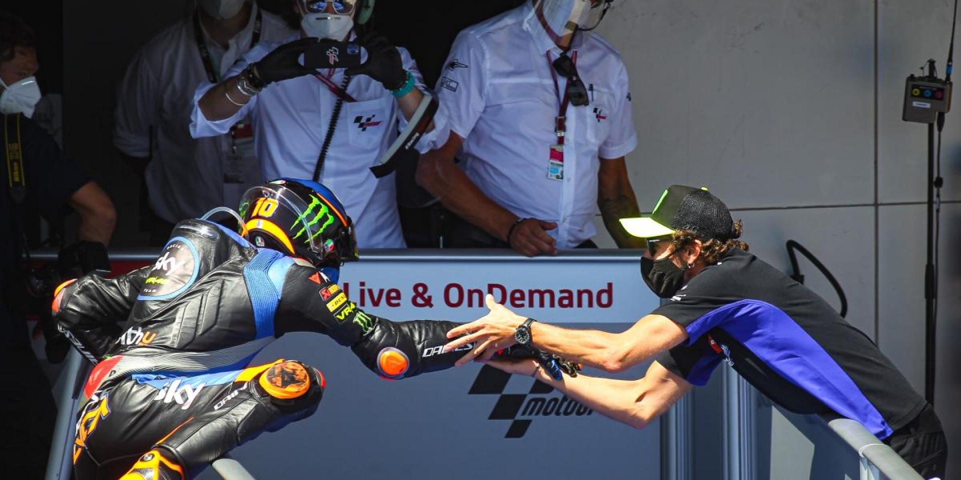 開局就送魔關羽!Valentino Rossi: DUCATI是一支優秀的車隊,Marini可以在2021年得到很好的競爭力!