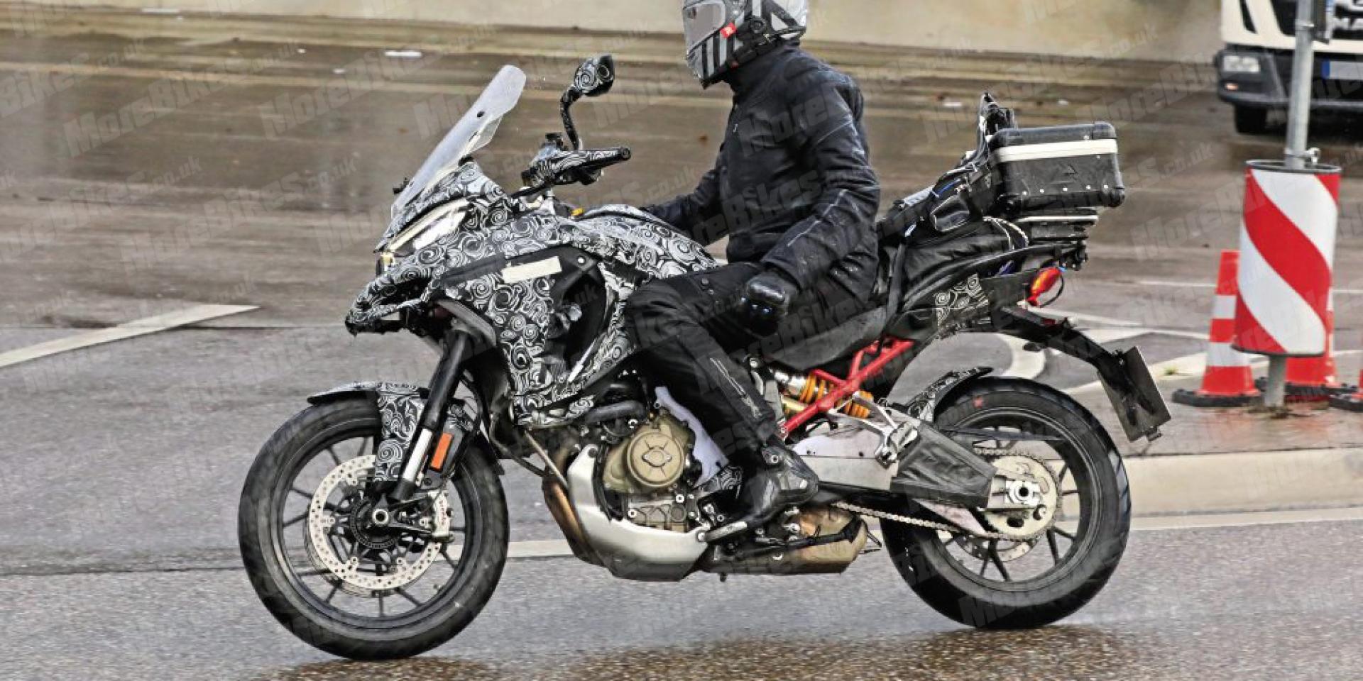眾多細節曝光!Ducati V4 Multistrada 實車間諜照流出