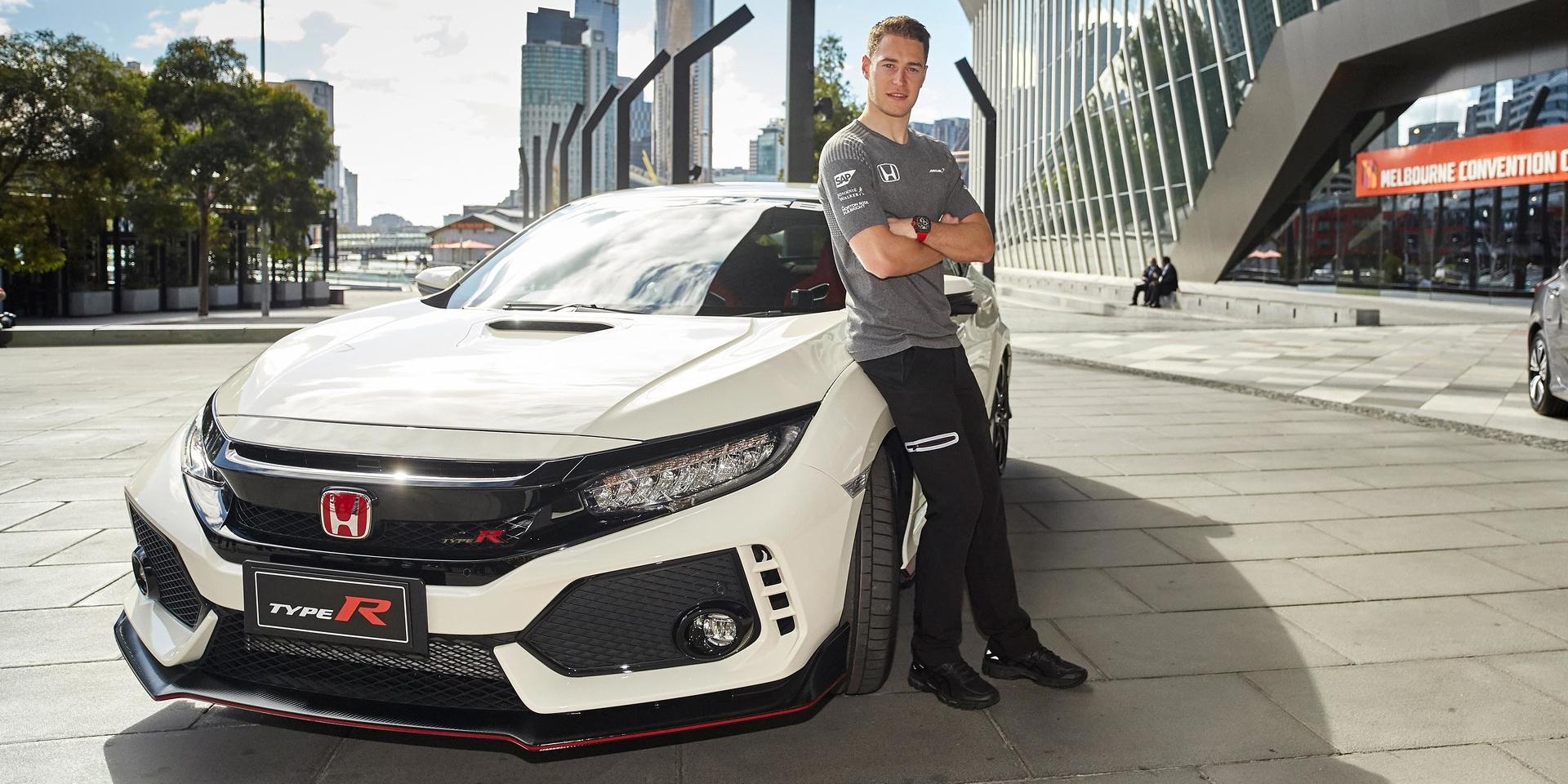 光是聲音都能讓人高潮,F1車手Vandoorne駕駛Honda Civic Type R
