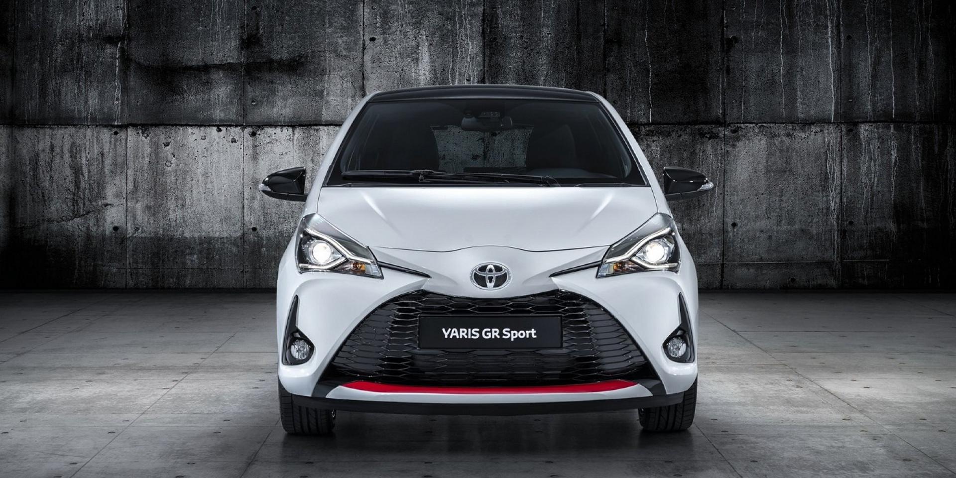 小鴨鴨大變身,Toyota推出Yaris GR Sport