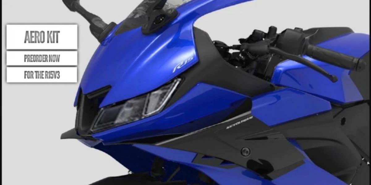 幫R15裝上一對翅膀!印度Autologue Design推出YZF-R15專用空力套件