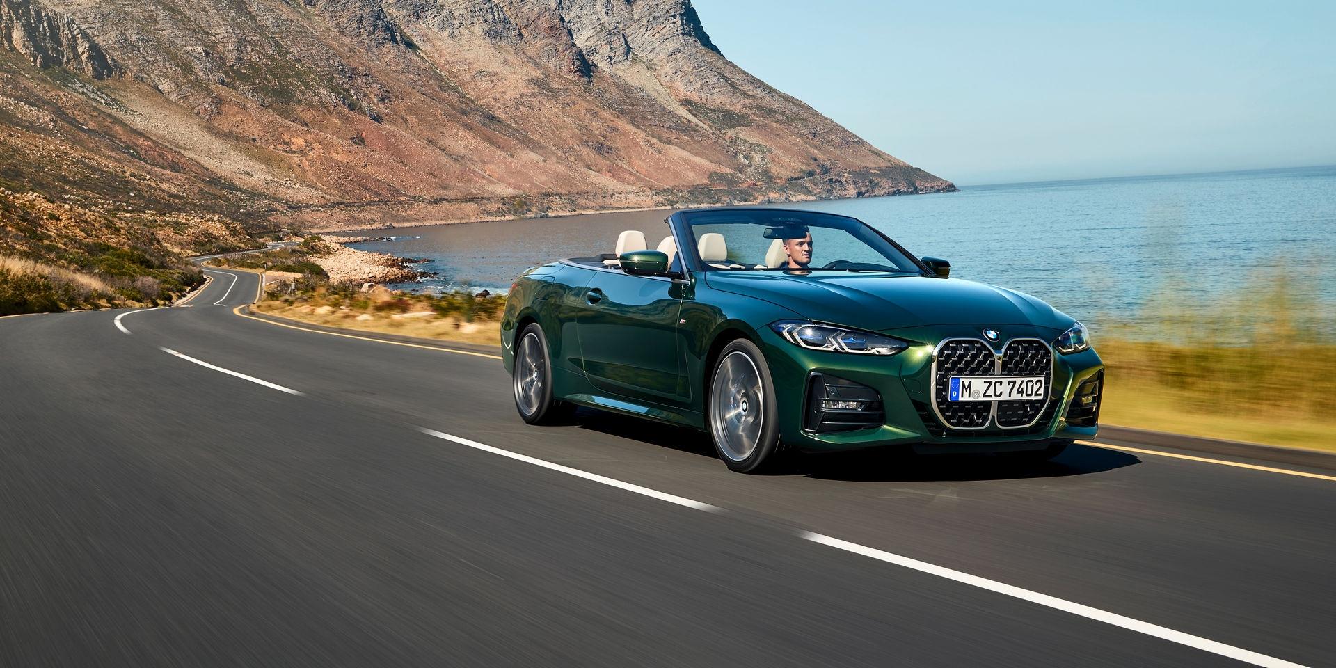 BMW 4系列軟篷回歸!18秒內享受陽光灑落!
