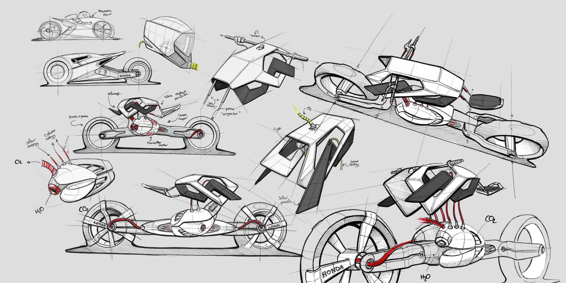 電動車的新出路,HONDA氫燃料電池專利揭露