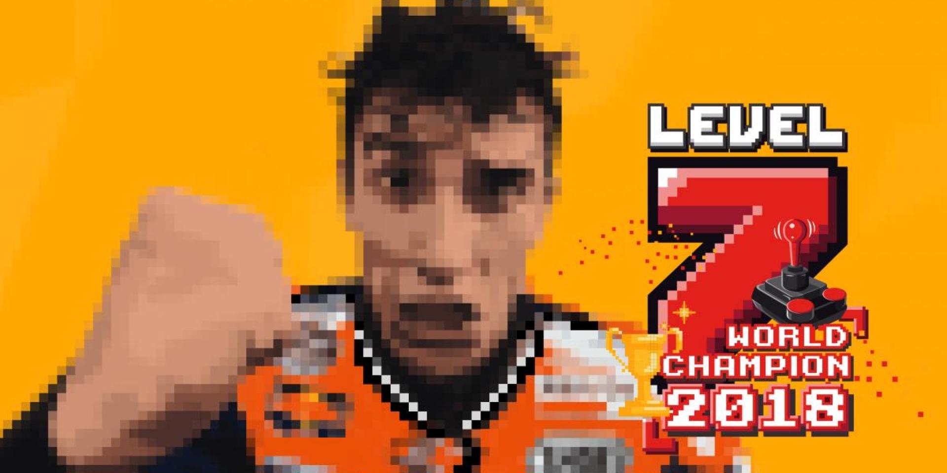 升等Level 7再度解鎖世界冠軍成就! Marc Marquez日本站提前封王!