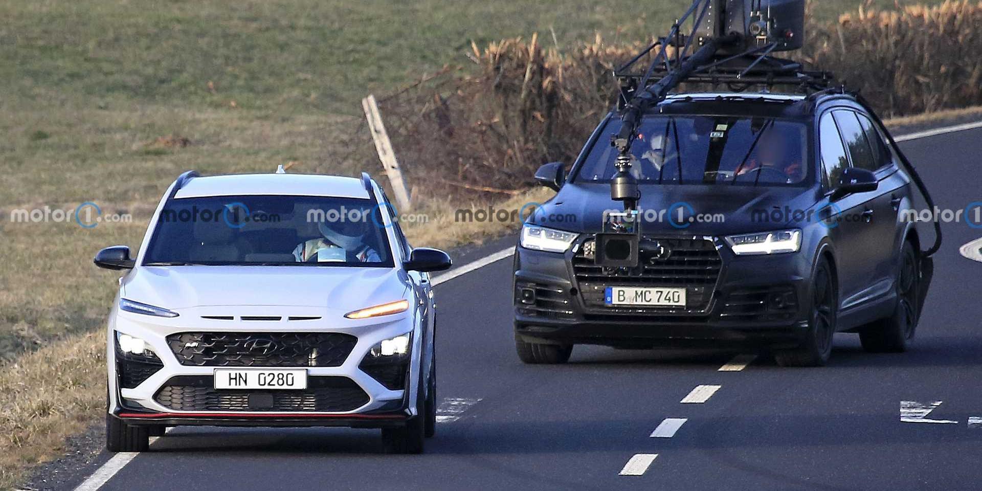 Hyundai Kona N實車全都露!拍攝廠照無偽裝入鏡!
