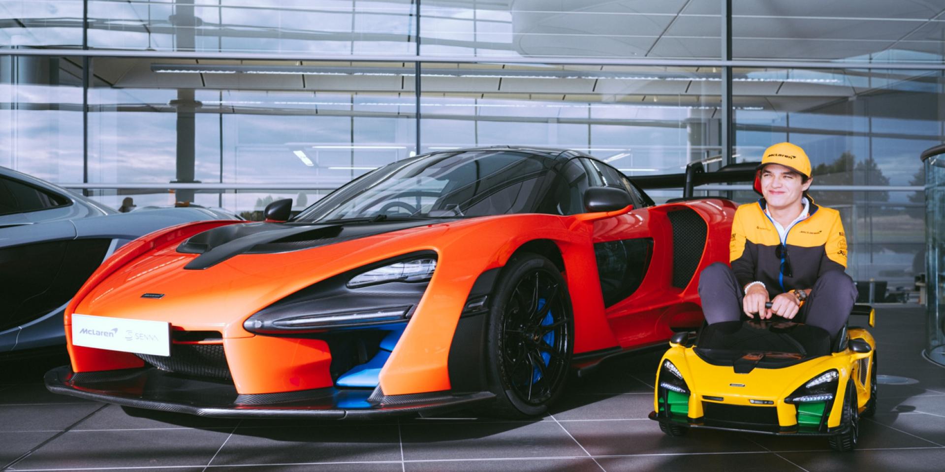 你也可以當McLaren Senna車主!只是腿部空間是個問題!