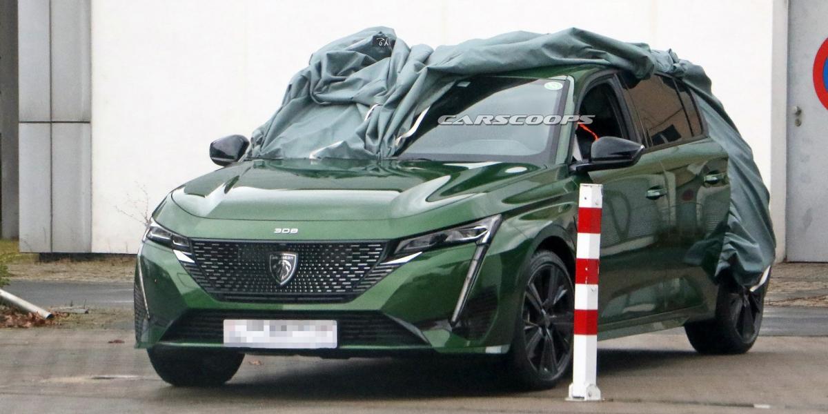 換新廠徽又長「獅牙」!Peugeot大改款308實車搶先曝光!