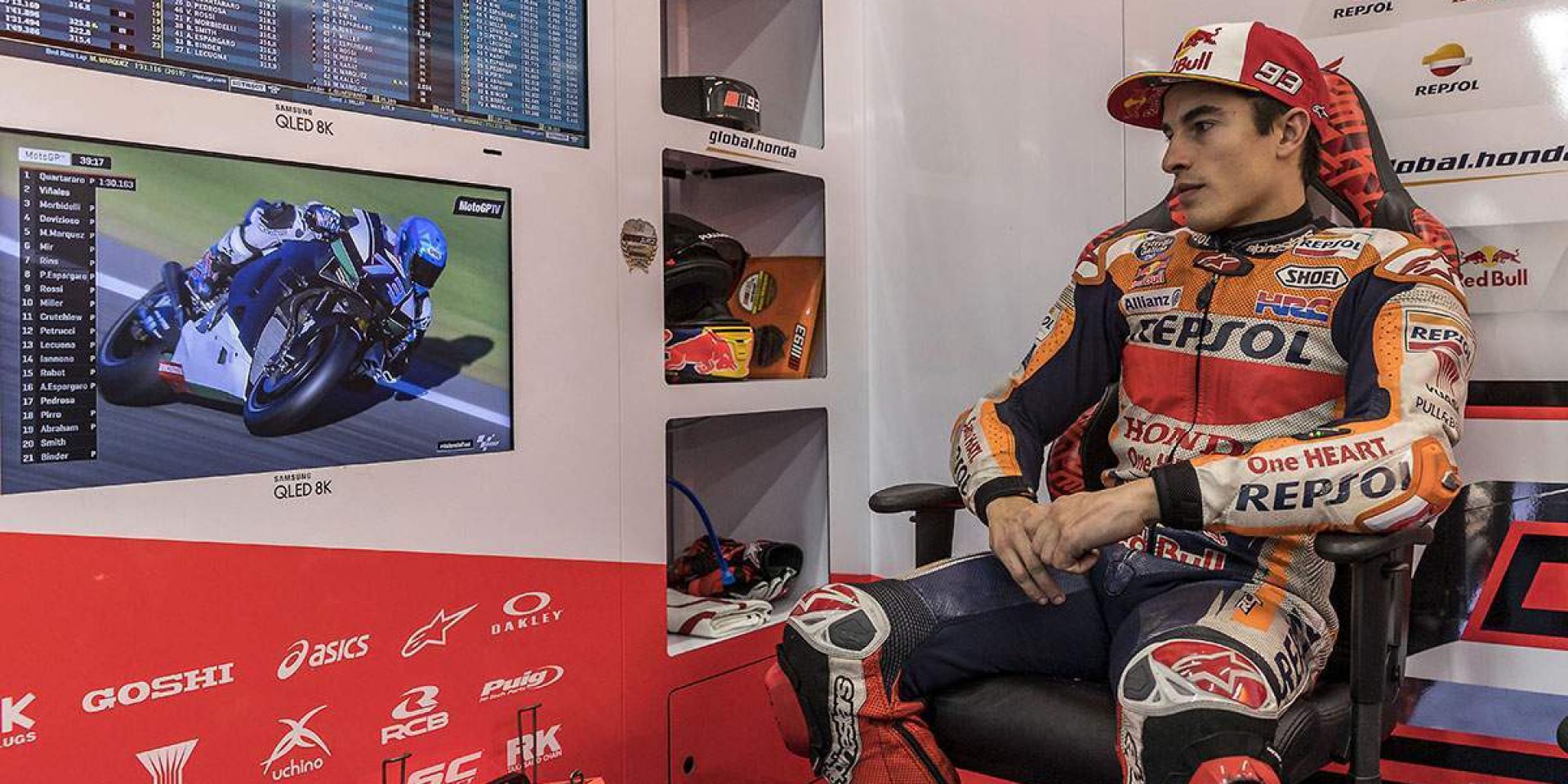 脫臼肩傷復發?!Marc Marquez可能錯過2020 MotoGP開季前兩站