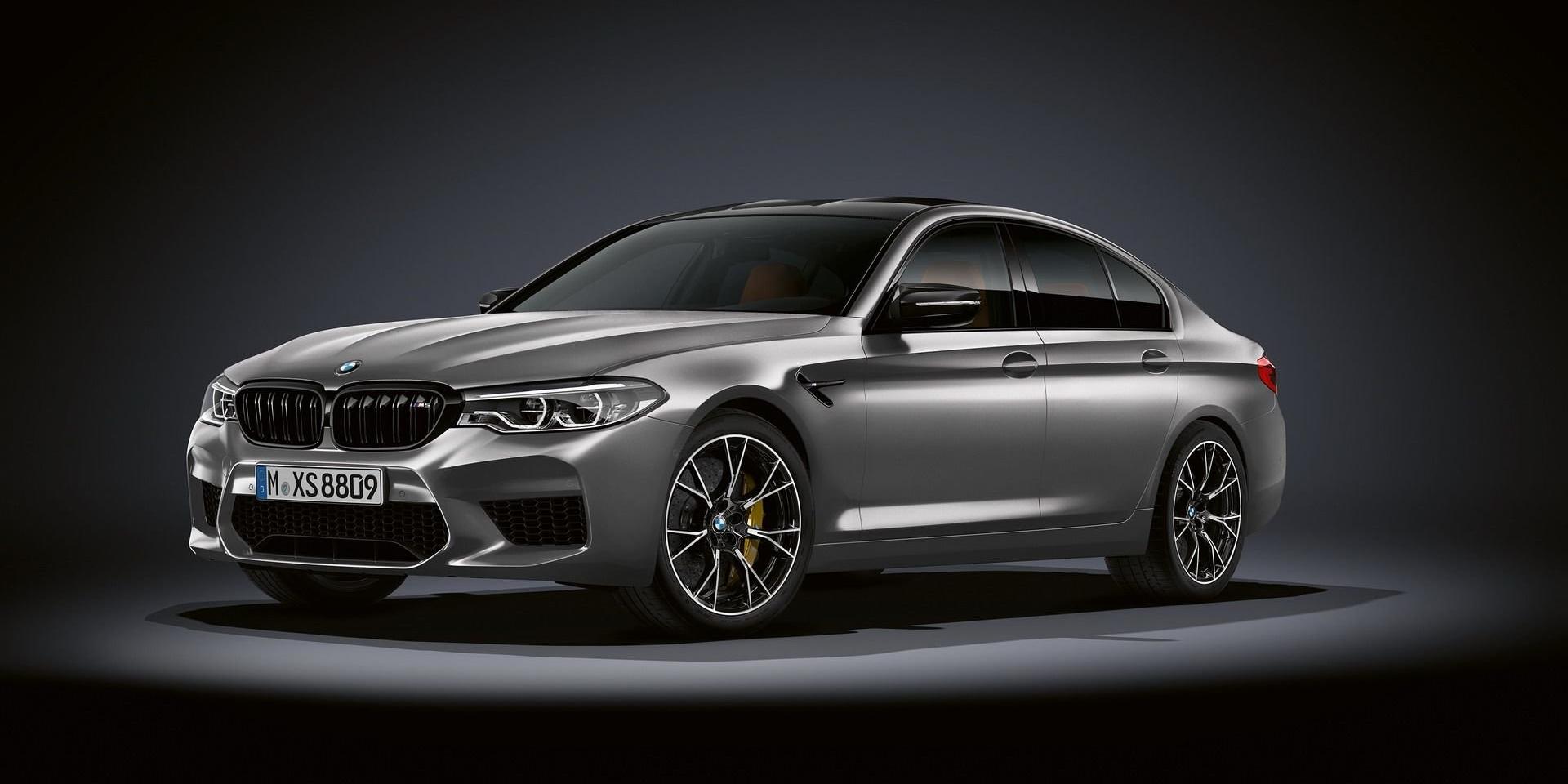 為了抗衡對手,BMW推出M5 Competition進階版