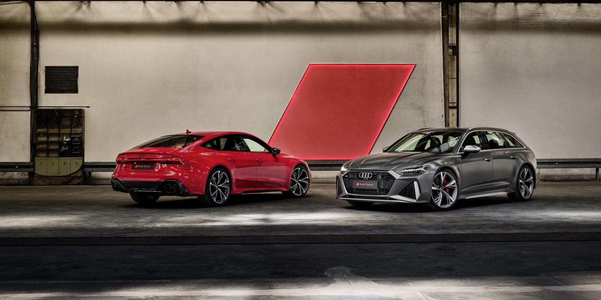 600hp還不夠!Audi表示RS6、RS7還會有更強版本出現!