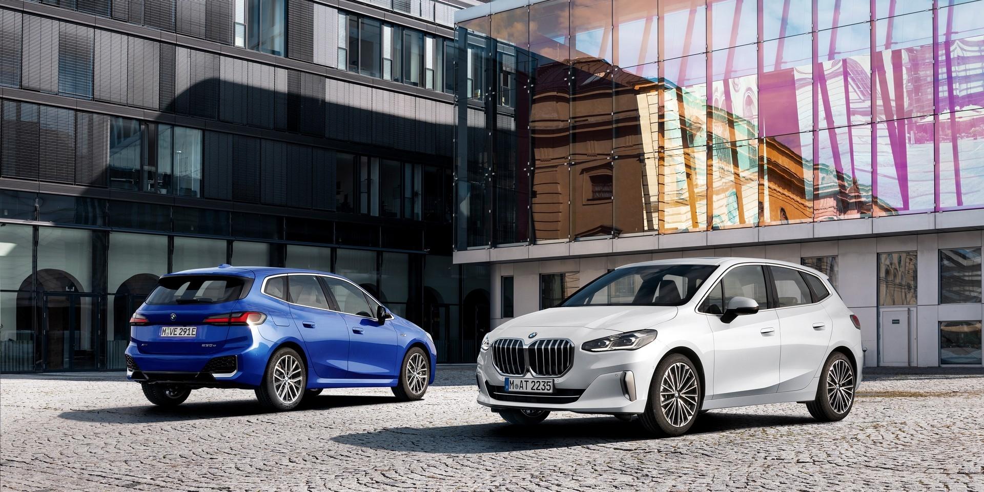 第二代BMW 2系列Active Tourer亮相,增加插電混合動力