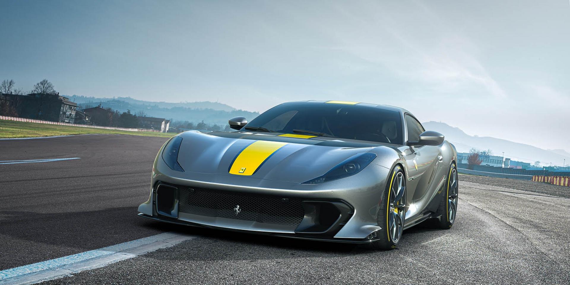 官方新聞稿。Ferrari 812 Competizione/Competizione A 震撼登場致敬傳奇經典