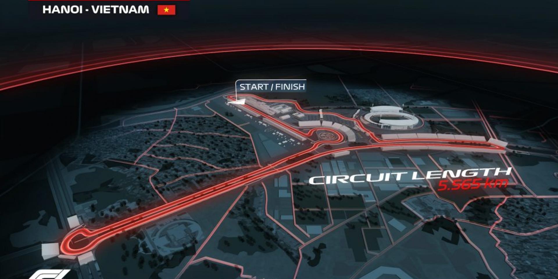 為2020年F1備戰!越南Hanoi Street Circuit開始動工