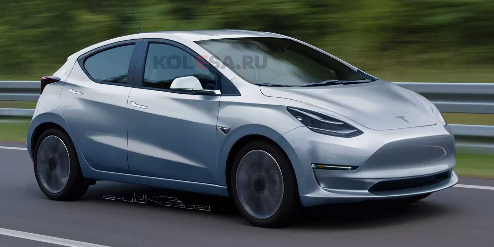Tesla Model 2長這樣?只要2.5萬美金搶攻入門市場!