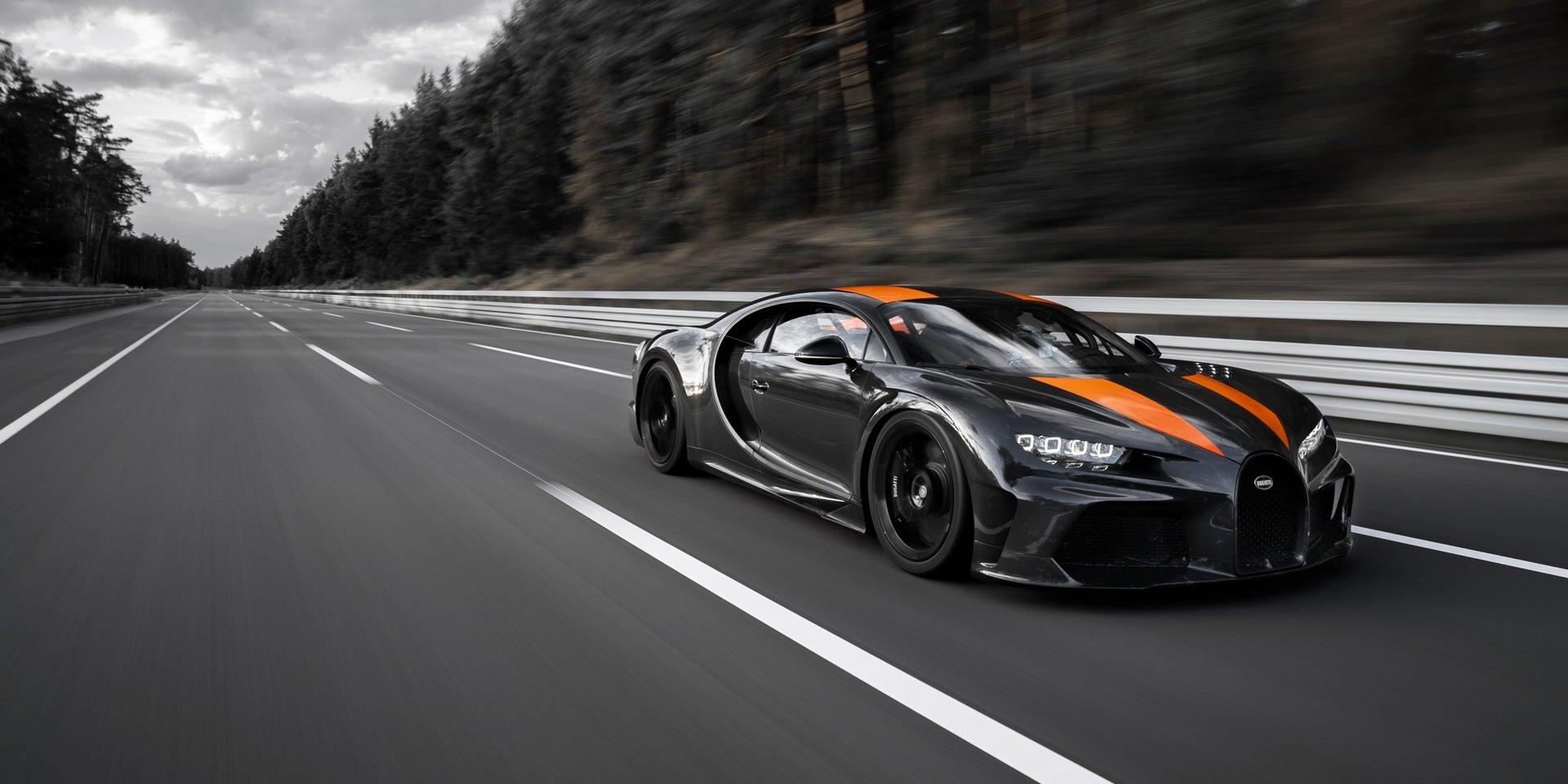 再次寫下極速紀錄 Bugatti Chiron Prototype突破490km/h大關!