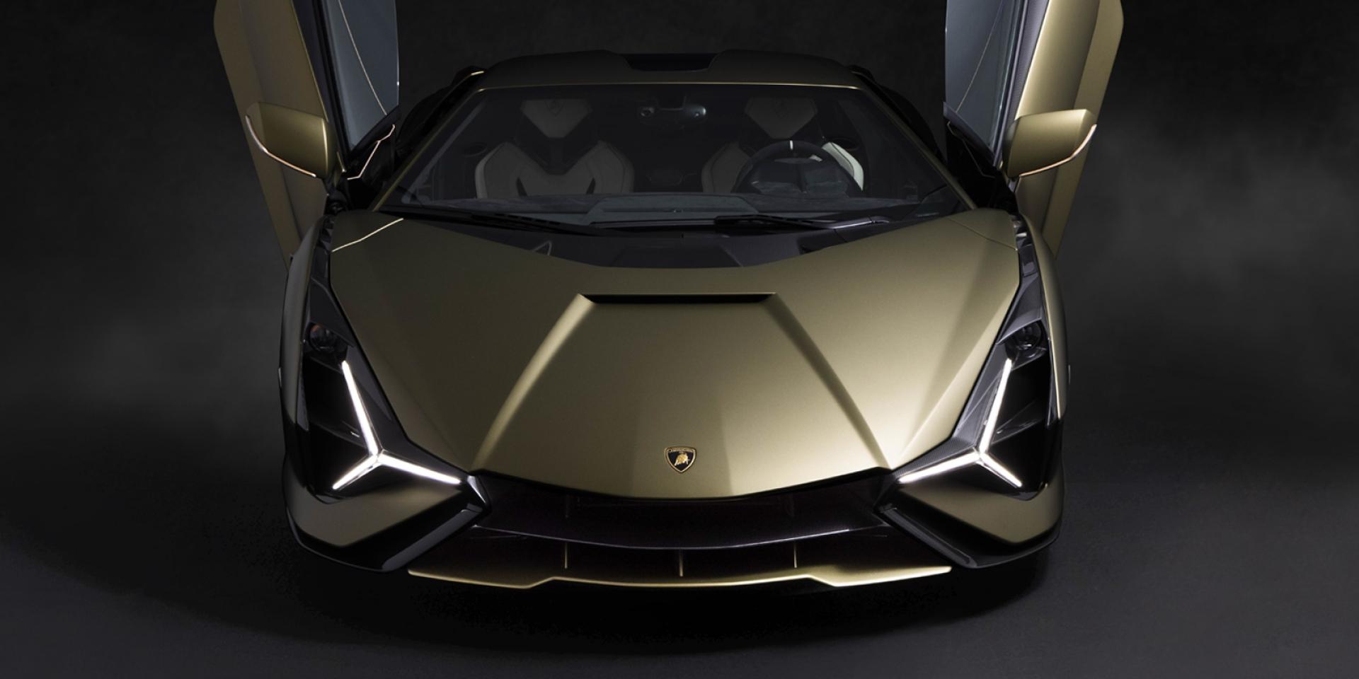 劃時代混合動力非凡超跑 全臺首部 Lamborghini Sián 正式抵臺