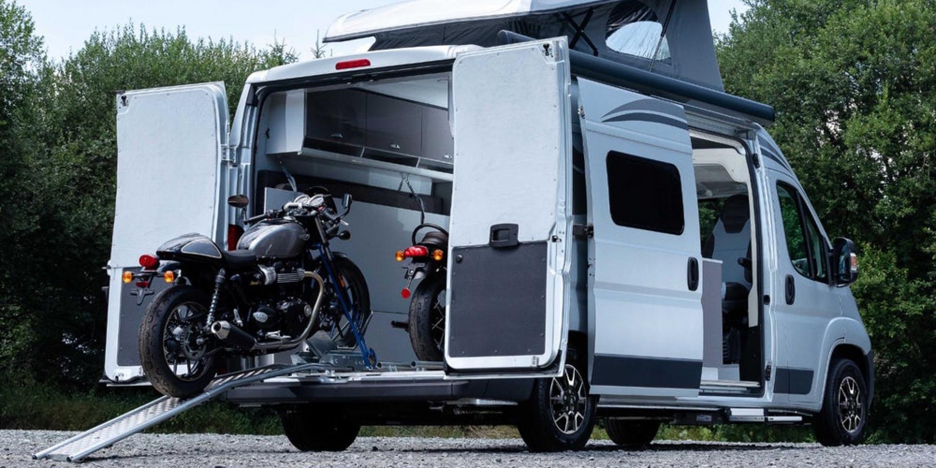 帶著你的機車去露營!Citroën Jumper Biker露營車