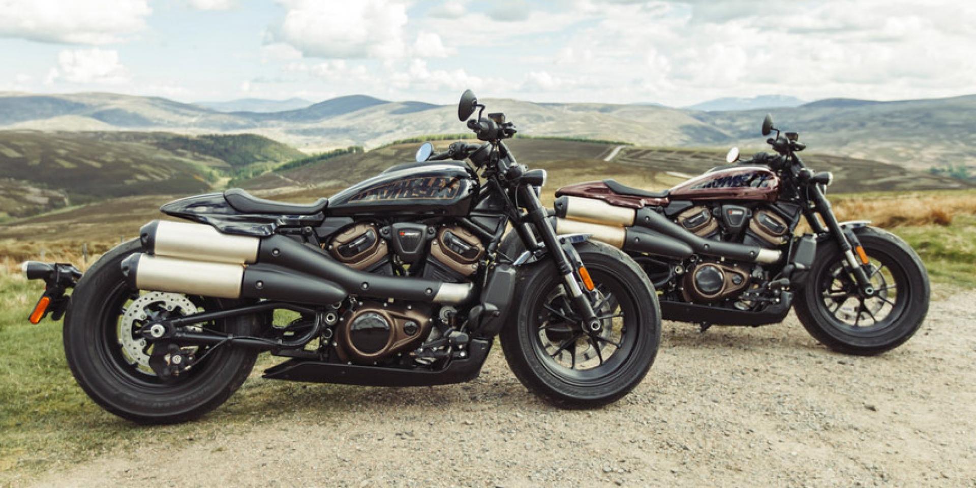 帥氣依舊,科技點滿的新世代哈雷!Harley-Davidson Sportster S