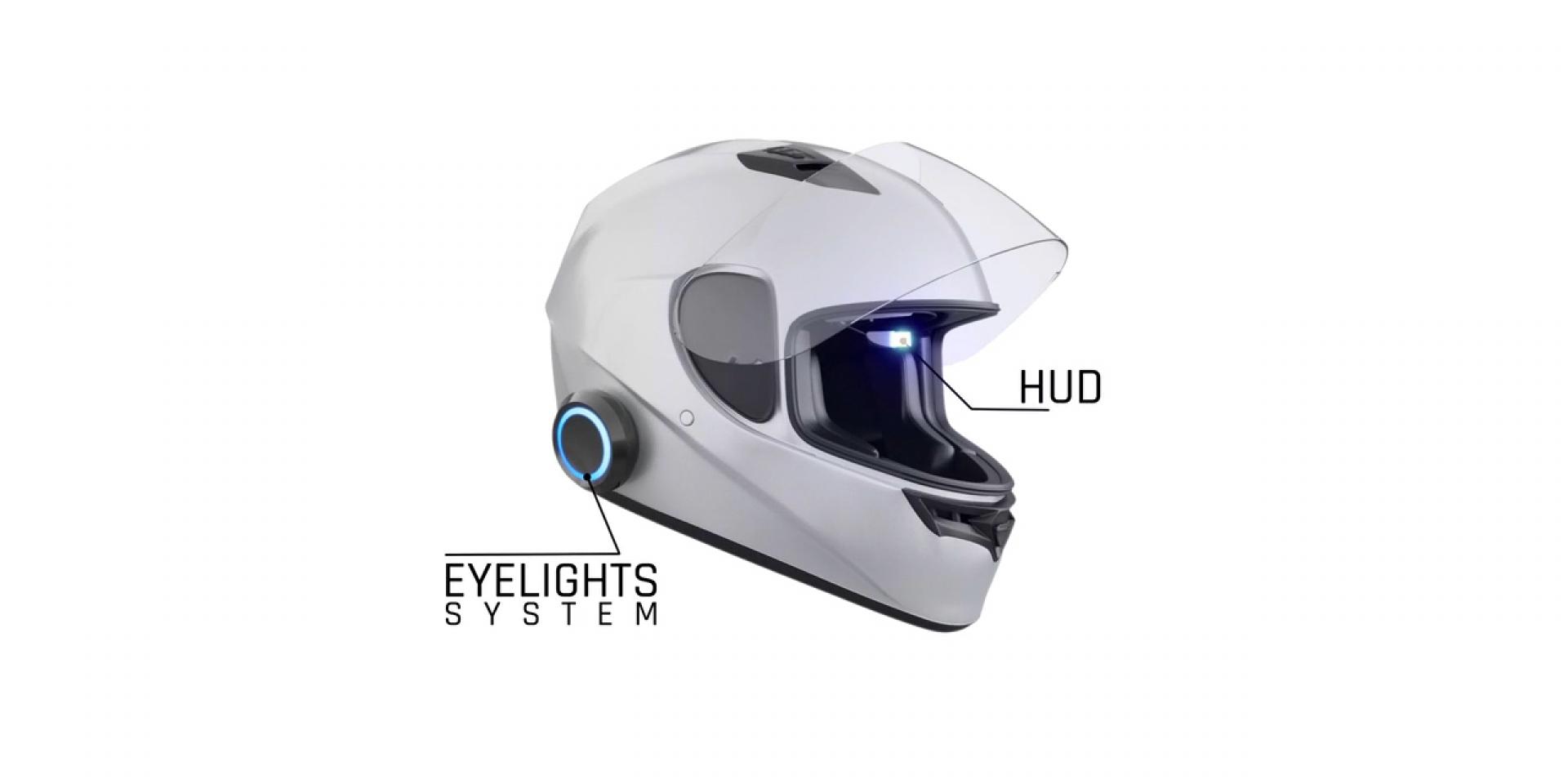 新的騙局還是有望成真?法國「EyeRide安全帽HUD套件」