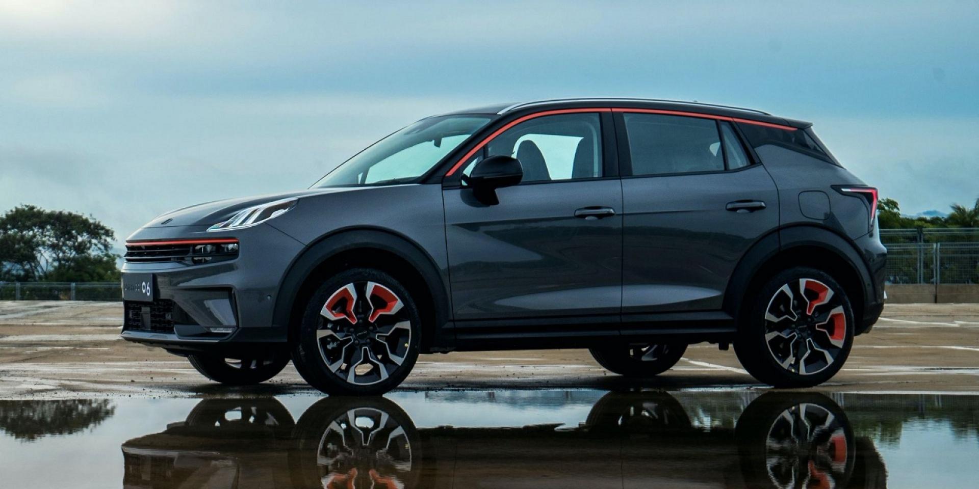 中國品牌Lynk & Co推出小型休旅車06,主推年輕運動感