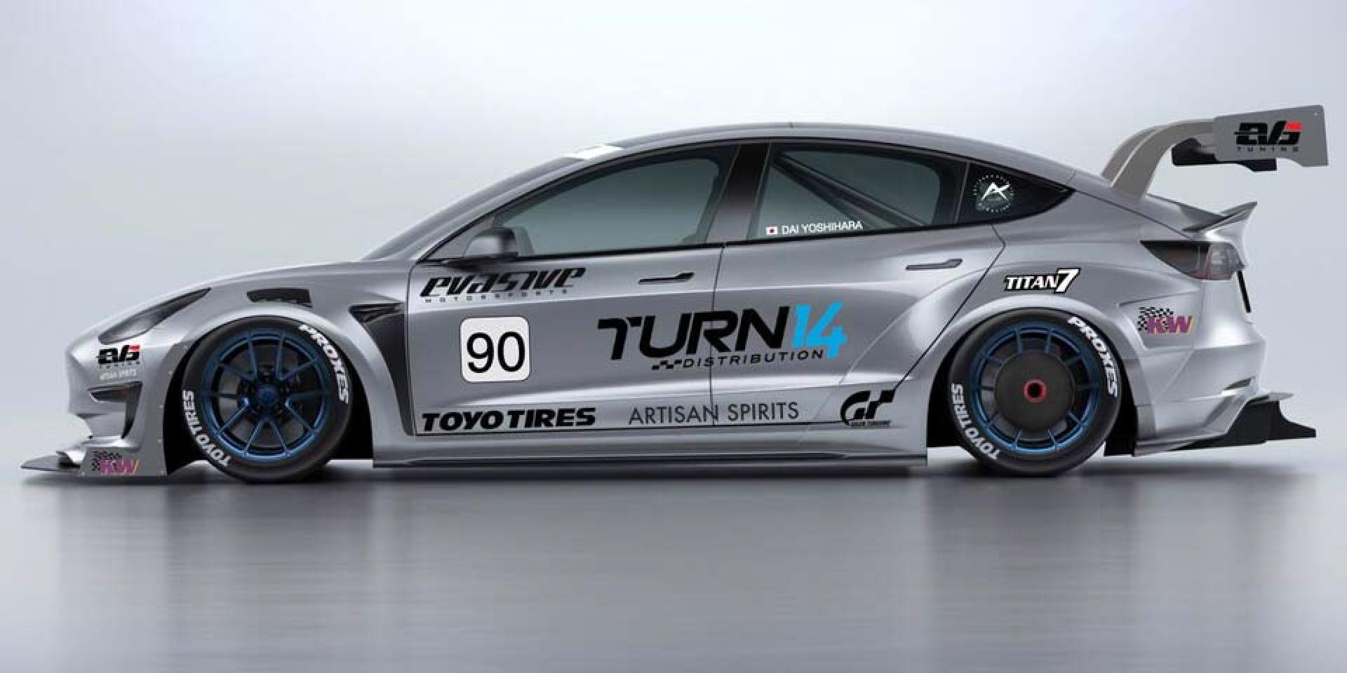 爆改Tesla Model 3與冠軍車手,將挑戰2021年派克峰爬山賽!
