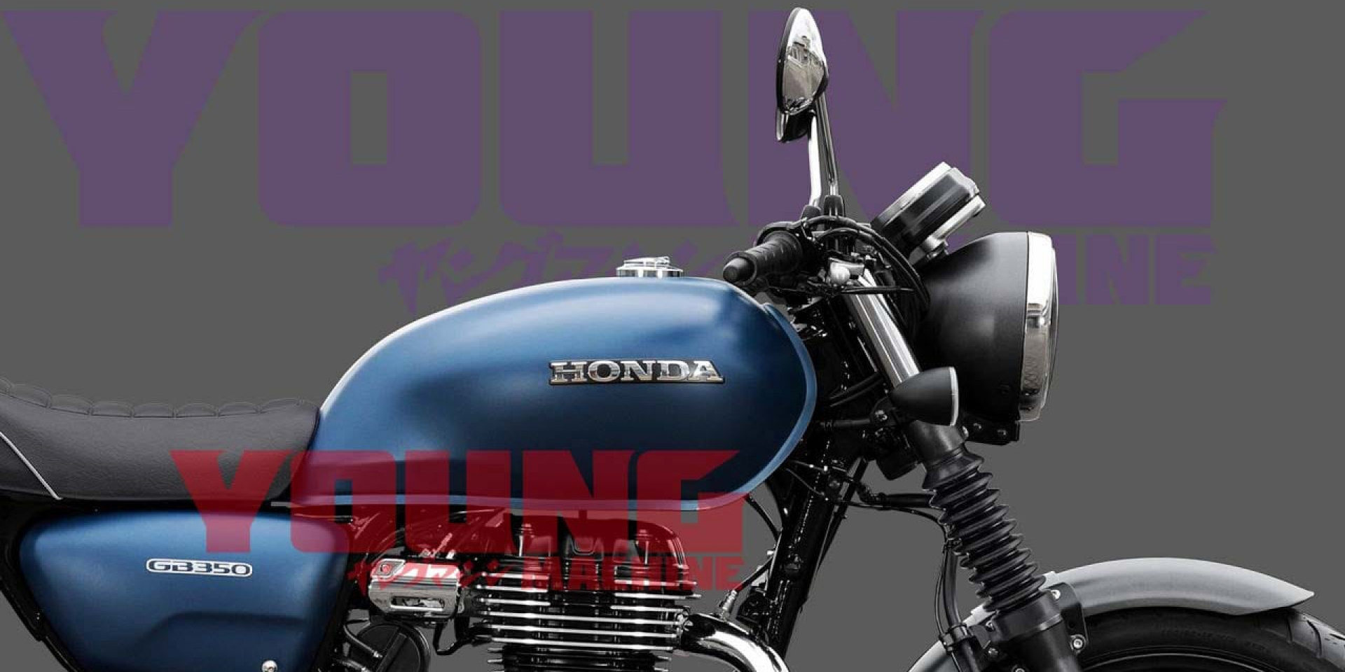 HONDA GB350日媒紙上改車,小改細節質感翻倍!