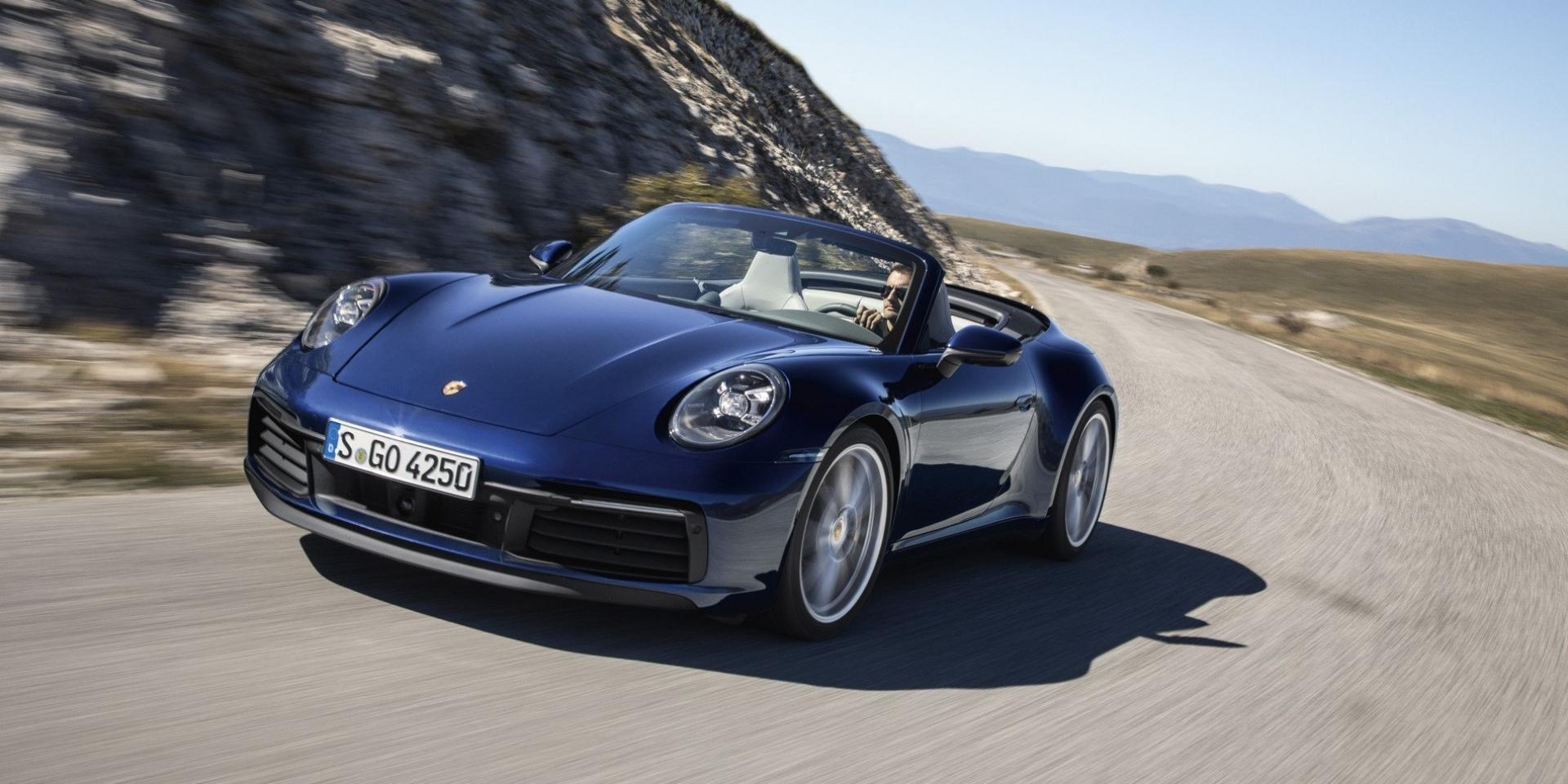 12秒享受陽光,Porsche 911 Cabriolet率性登場!