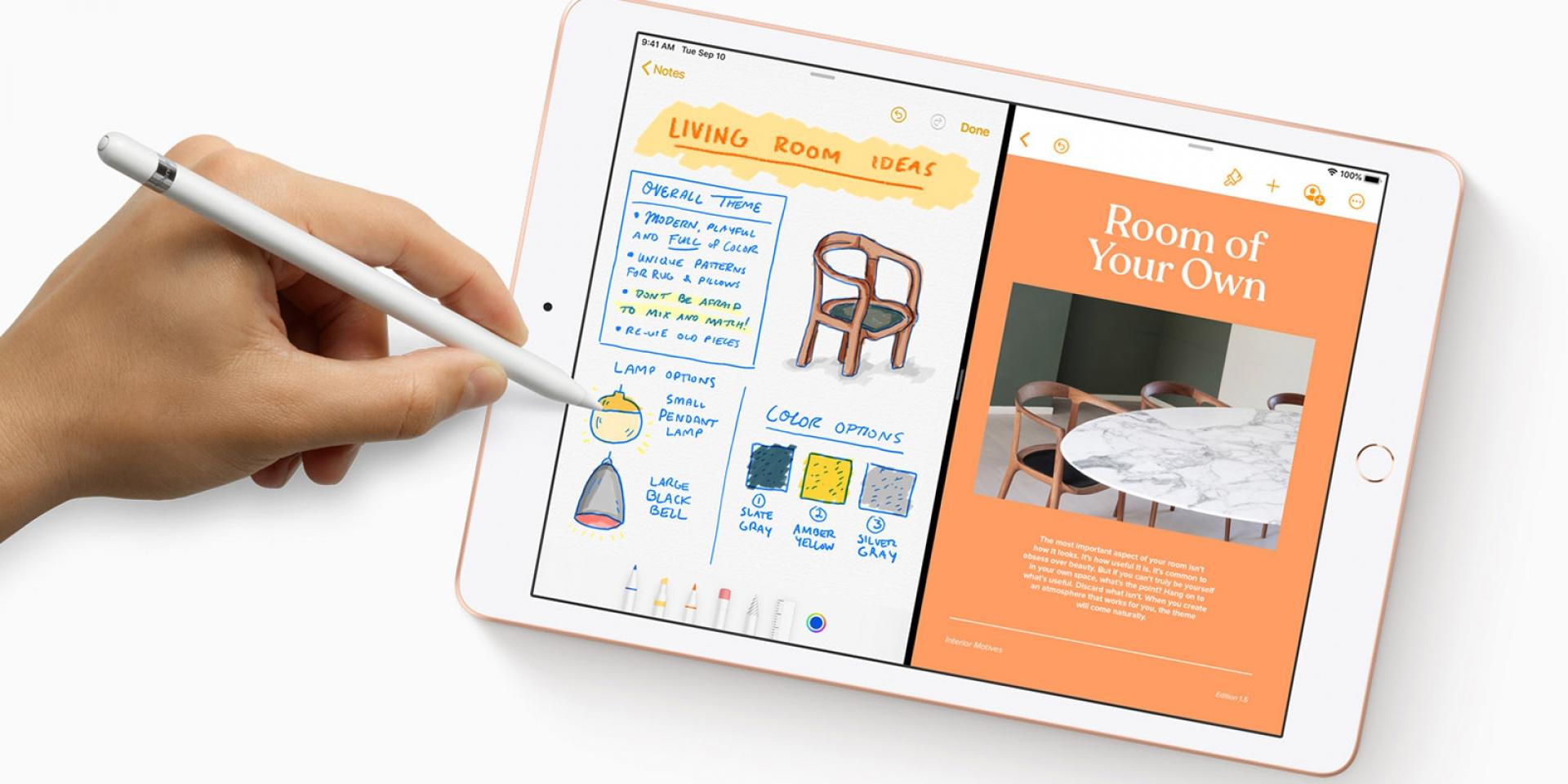 價格實惠、螢幕升級,成為生產力工具的2019 Apple iPad
