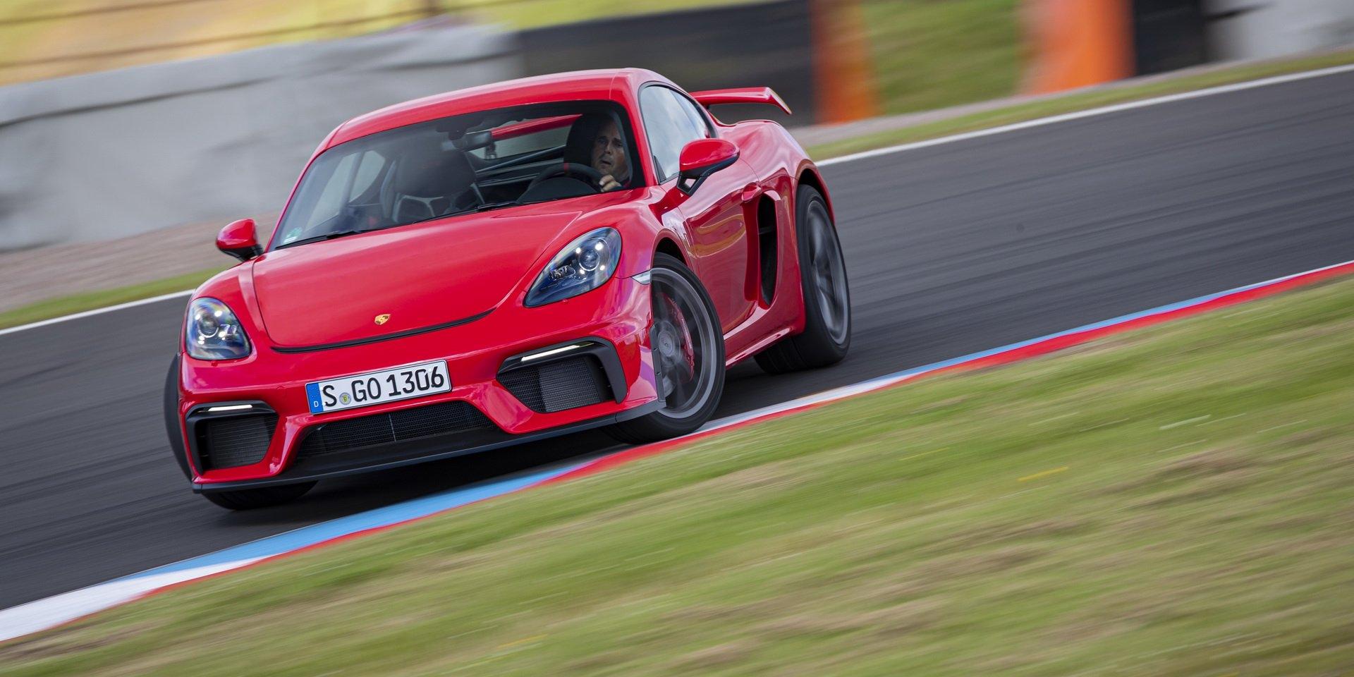 Porsche 718 Cayman GT4還可以更快,但現在不適合
